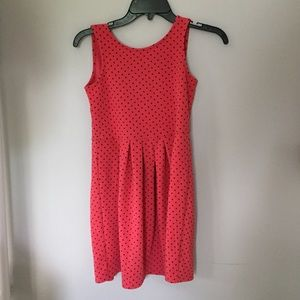 Pink and blue dotted dress from Jessica Simpson
